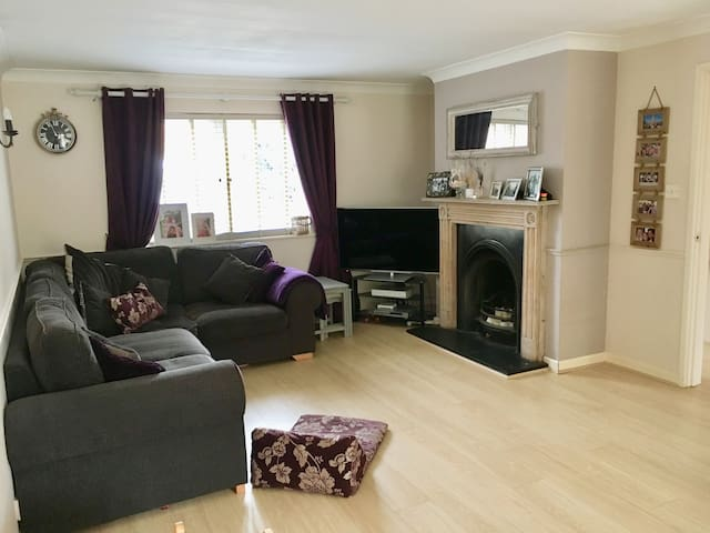 Warm family home on the outskirts of St Helier