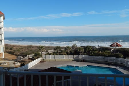 Sensational View at Oceanfront  2 BR/2 Bath condo - North Topsail Beach