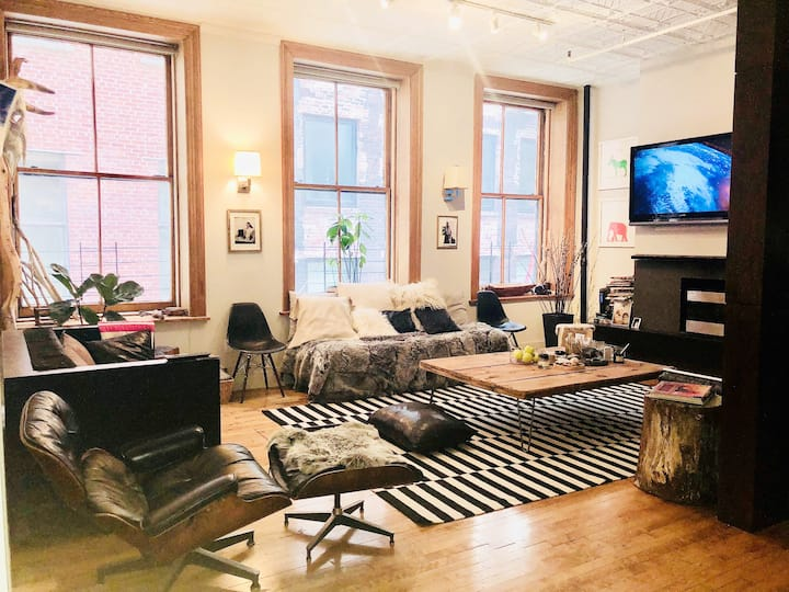 TRIBECA/SOHO 2 BEDROOM LUXURY LOFT
