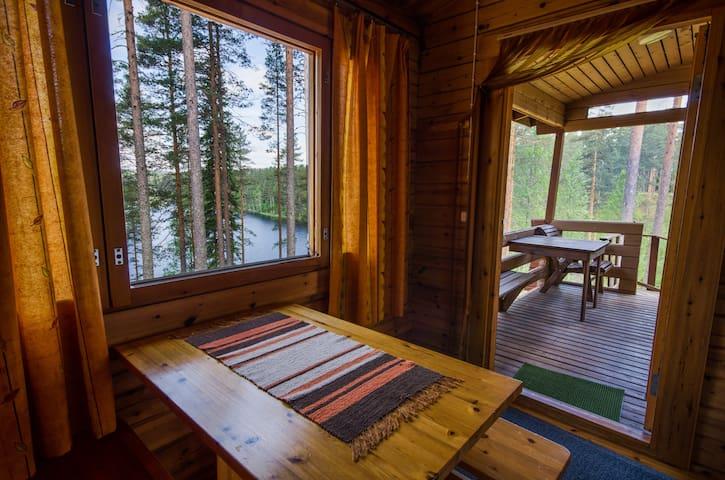 Ahvenlampi Camping - Saarijärvi - Srub