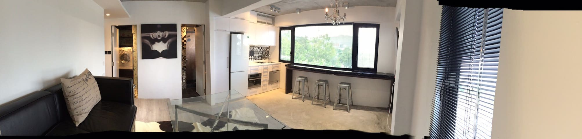 5/FL walk-up luxury studio + roof