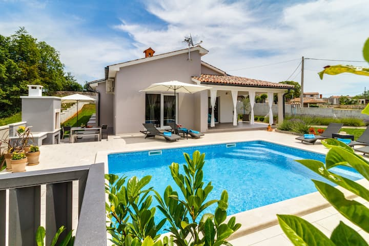 Mala Vala holiday house with a private pool