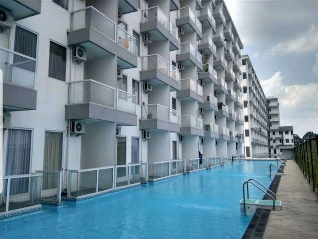 Jogja 2 beds apartment. In the city