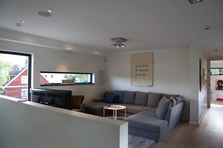 Upper TV room