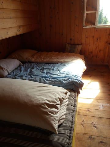 1 Schlafraum mit 5 Plätzen