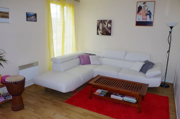Grand appartement au centre ville - Châtillon-sur-Seine - Lejlighed