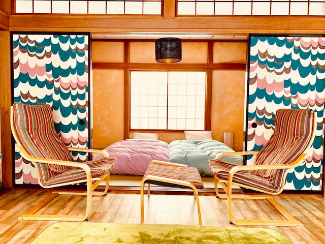 Summer Vacation at a Cozy Japanese House