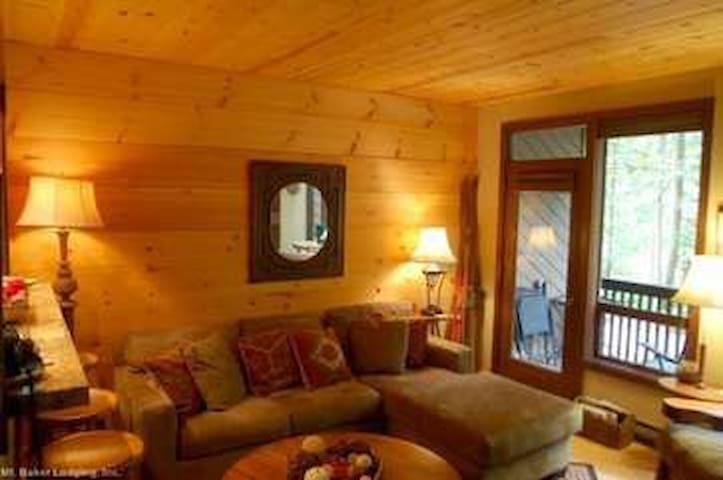 #62 - Snowater Condo - Glacier - Apartment