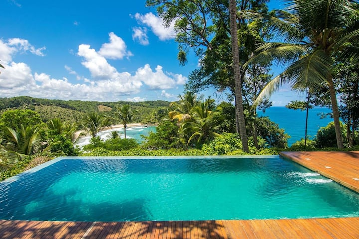 Bah150 - Beach house with amazing view in Itacaré