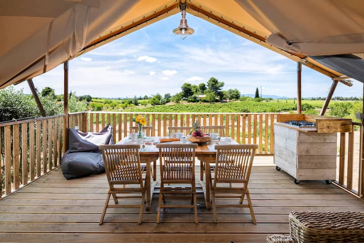 Glamping tent (6p)