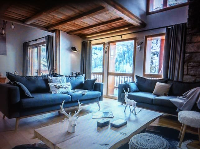 Chalet 12 people, original and very nice - Tignes - Almhütte