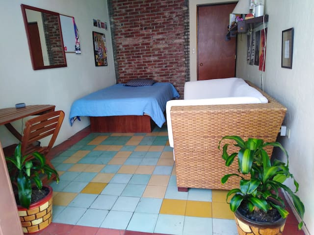 Bedroom in the heart of Puebla