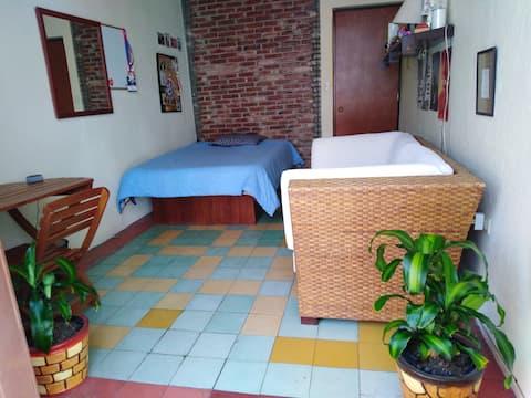 Bedroom in the heart of Puebla