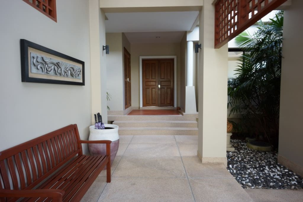 Feel welcomed into your own villa during your stay