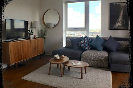 Spacious and luxurious 2 bed flat on 17th floor