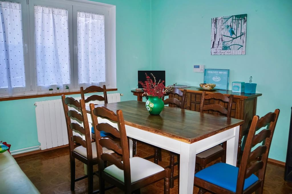 Dining room, Surface: 13 m²
