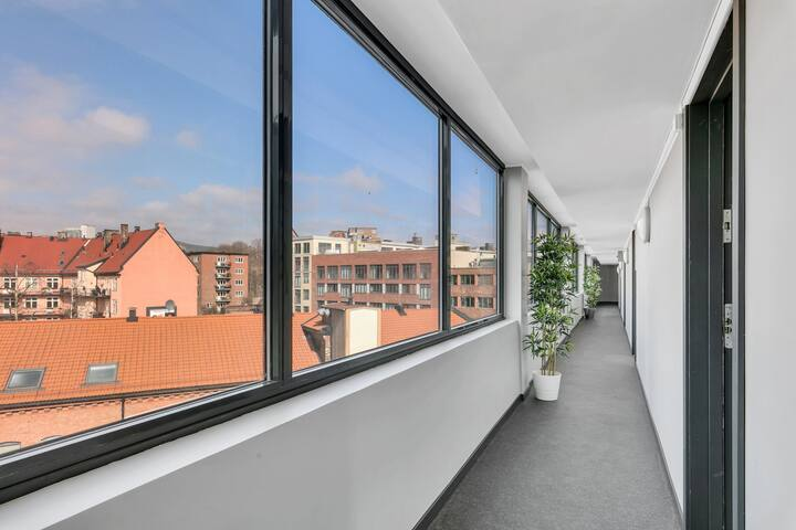 Modern two-bedroom apartment near Carl Berners Plass