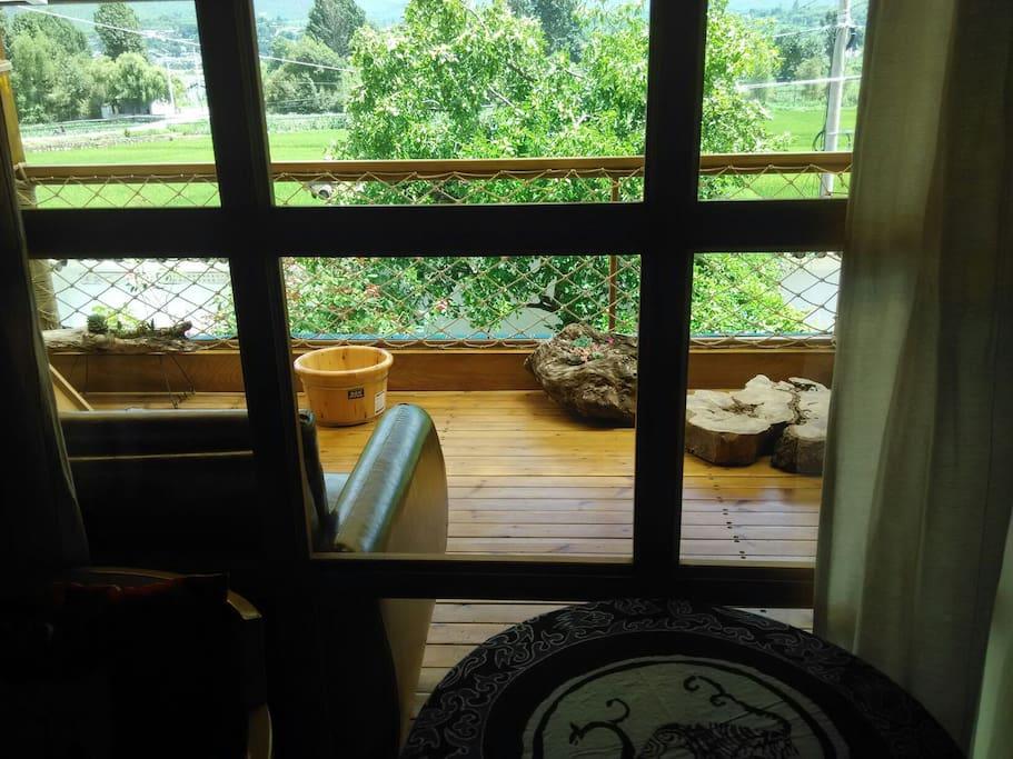 二楼观景阳台