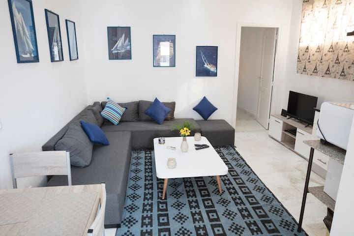 Charming&Trendy Apartment  in Marsa beach