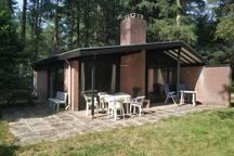 Rustige bungalow in het groen