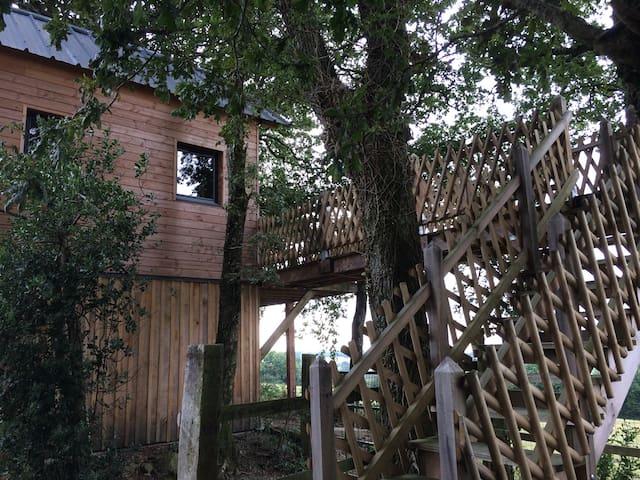 Cabane en pleine campagne - St Georges sur erve - Casa de campo