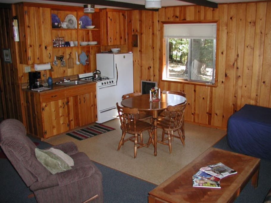 Pasture View Cabin Cottages For Rent In Trinity Center