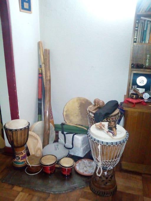 mis instrumentos ancestrales