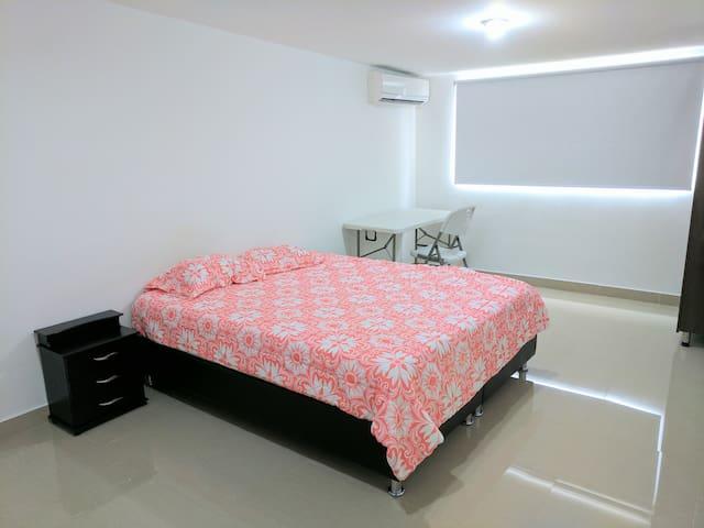 Habitación 313 tipo Suite Hotelera con Aire