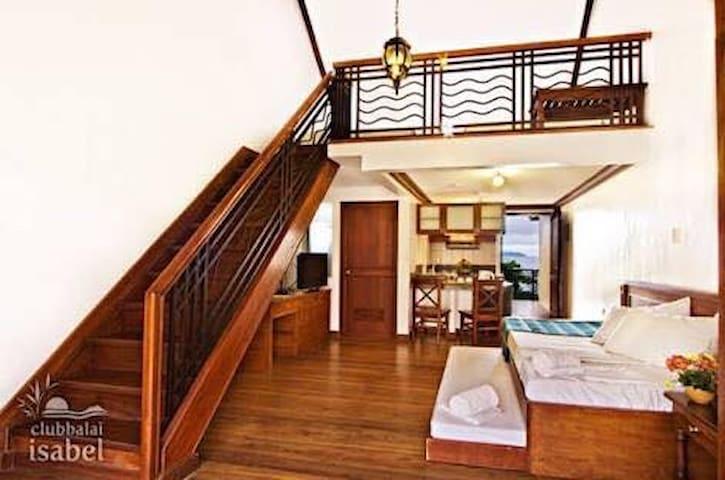 Loft Type Suite at Club Balai Isabel, Batangas