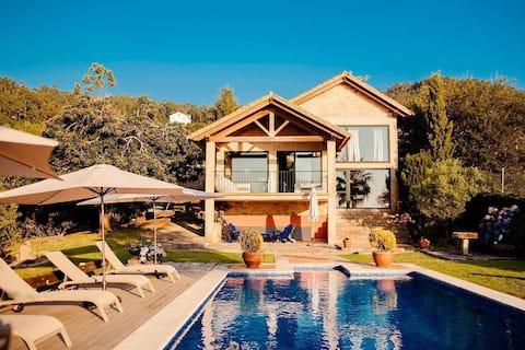 Xarás Wald, komplettes Haus zwischen Strand und Berg