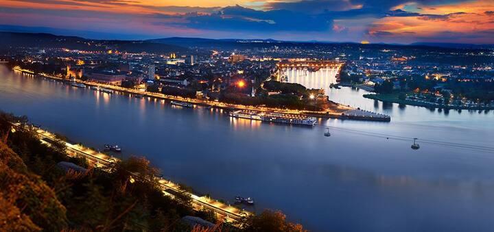 1 floor Koblenz City