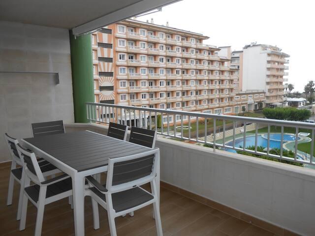 137 - Apartamento amplio y reformado en Peñiscola