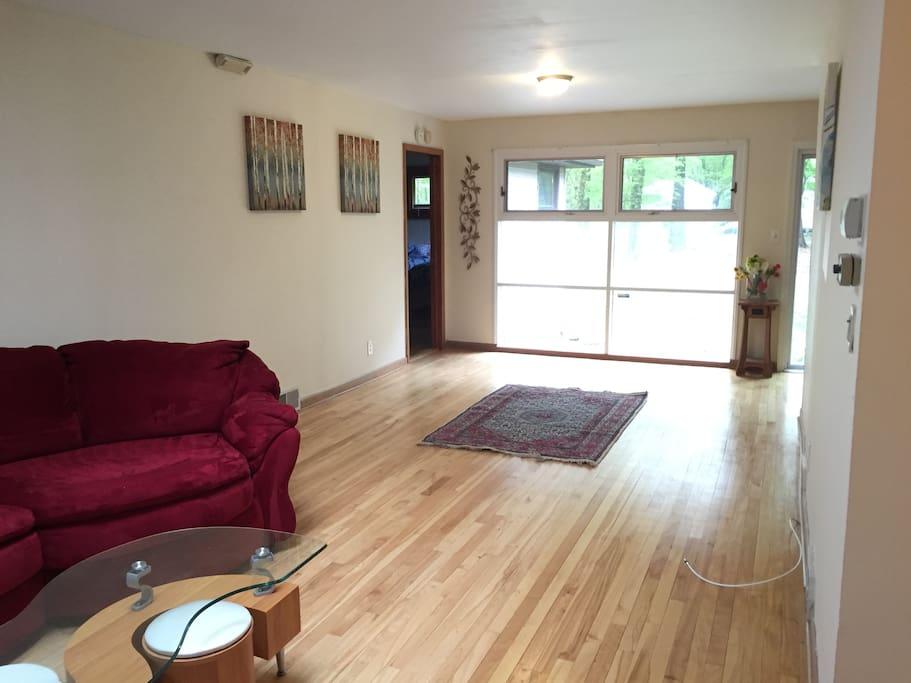 Living Room facing backyard