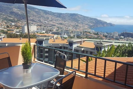 Breathtaking ocean & city view house - Funchal