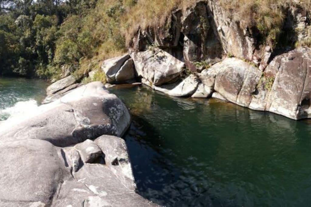 Cachoeira da Pedra vista de cima