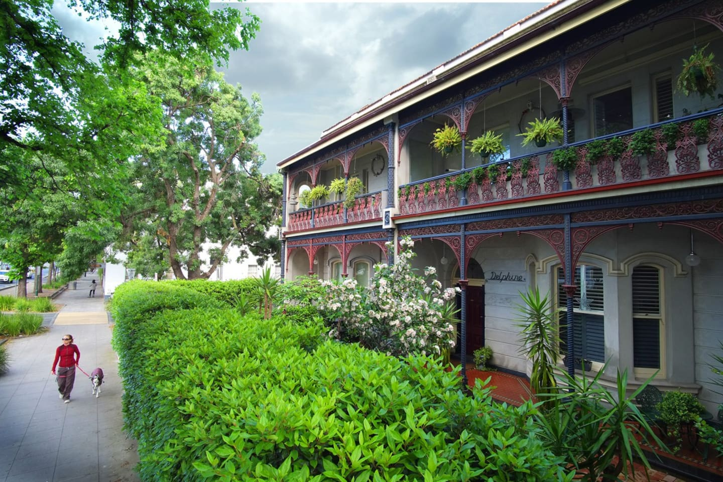 The Delphine Mansion. The top floor. 97 square metre Fitz View Mansion apartment.