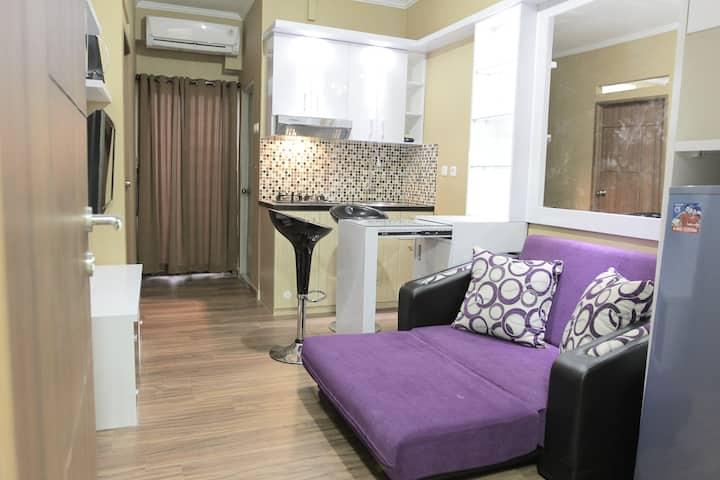Simply Apartment in Kemang View Bekasi w/ Cable TV
