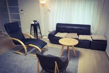 Whole living room (winter season)