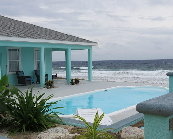 Brac Magic - magical oceanfront home with pool