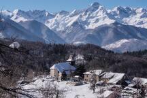 Le village de Aleu