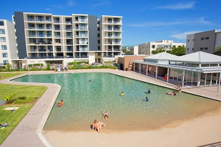 Luxury unit in The Waterfront, Olympic Park - Wentworth Point - Daire