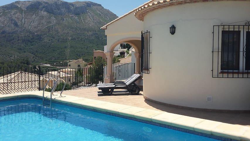 Luxe 6 persoons villa aan de Costa-Blanca. - L'Atzúbia - Huvila