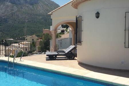 Luxe 6 persoons villa aan de Costa-Blanca. - L'Atzúbia - Willa