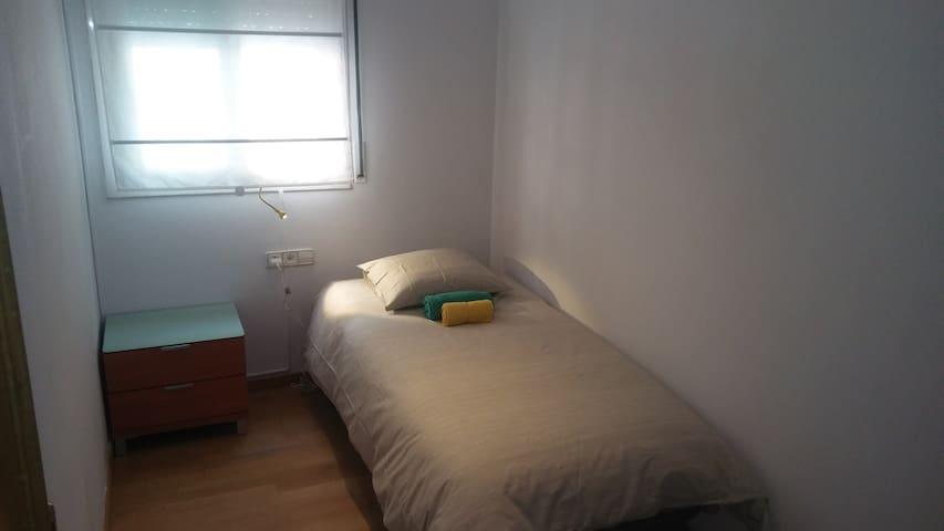 Single or double room near Sagrada familia