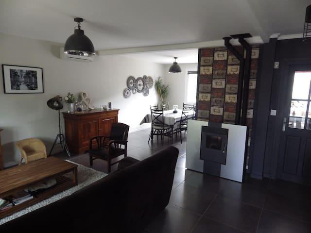 Maison à louer pour les 24H du Mans voiture et GP - La Milesse - Dom