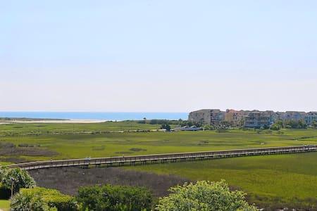 Grand Views! Beautiful, Renovated, Walk to Beach!