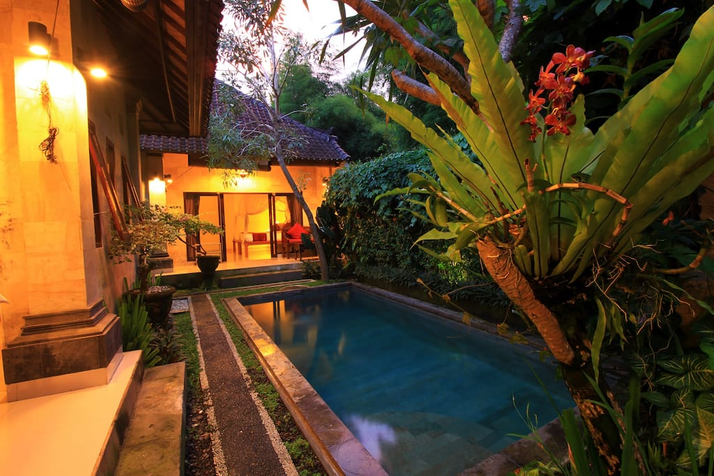 Two Bedroom Private Villa with private swimming pool.