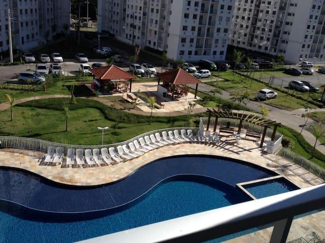 Ap na Barra ao lado Rio Centro e Parque Olimpico.