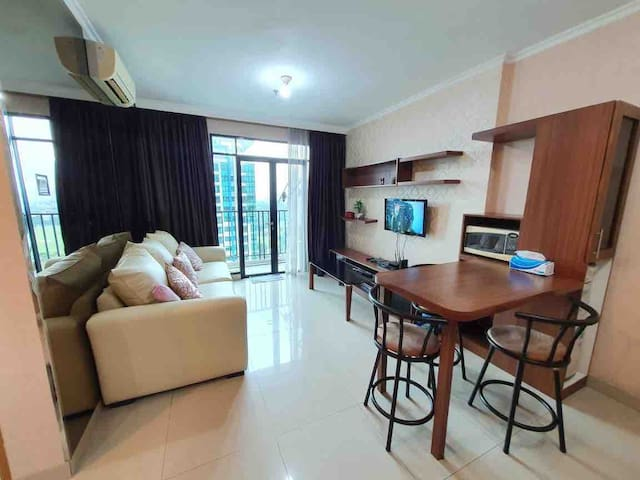 2BR Apt in Pondok Indah South JKT Pool+Gym+Tennis