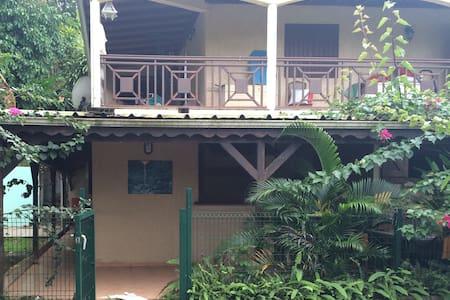Bas de villa type T2 tout confort - Petit-Bourg - Apartemen